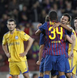 Barcelona have a problem with the Alcántara brothers