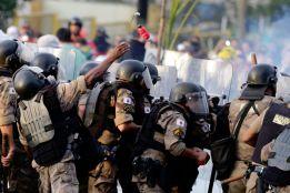 Belo Horizonte police call for semi-final to be postponed