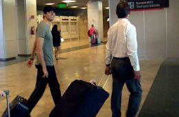 Kaká back in Madrid, but keeping silent about his future