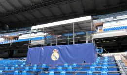 Real Madrid prepare directors' box to welcome Gareth Bale