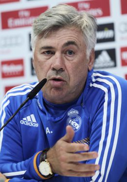 "Ancelotti: ""I'm Italian; we don't need 30 passes, three will do"""