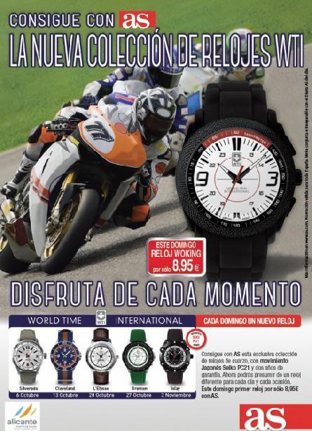 Colección de Relojes WTI