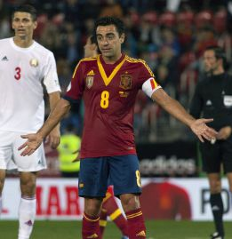 "Xavi: ""We've taken a giant step towards the World Cup"""