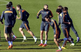 CR7 sits out Real Madrid training and will miss Galatasaray clash