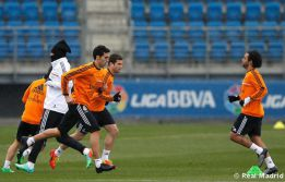Marcelo back training, Coentrão stays in the gym
