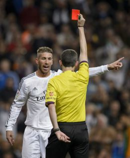 RFEF Appeals Committee ratify Sergio Ramos suspension