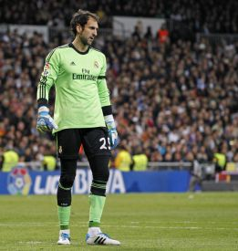 Diego López: six goals conceded from last nine shots on goal