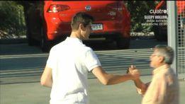 Thibaut Courtois says goodbye to Atlético Madrid