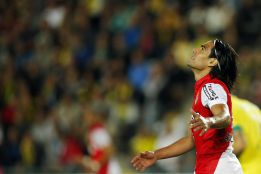 Real back in the hunt for Falcao