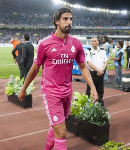 Khedira facing up to eight weeks on the sidelines