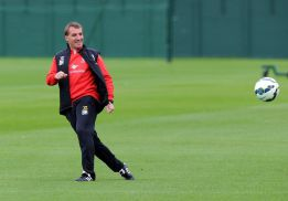 "Rodgers: ""Cristiano and Bale could run in the Olympics"""