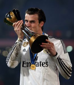 Manchester United would pay 153m euros for Gareth Bale