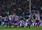 The suffering was worth it; Atleti go through on penalties