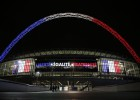 England and France play as homage to Paris victims