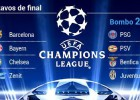 PSG, Juventus and Arsenal, teams to avoid in today's draw