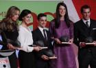 Javier Fernández, Marín, Beitia and Badosa: AS award winners