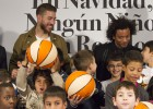 Real Madrid share out presents for children in need