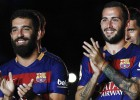 Barça's Turan and Vidal ready for Espanyol Cup clash