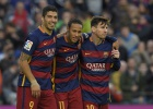 The BBC and MSN: tied on goals in La Liga so far