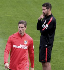 Simeone told Torres on Monday that he doesn't want to sign him