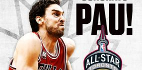 NBA: PAU GASOL CHICAGO BULLS EN EL ALL STAR 2016 EN TORONTO