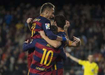 Barça run riot against Valencia