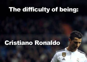 Why it isn't easy being Cristiano Ronaldo