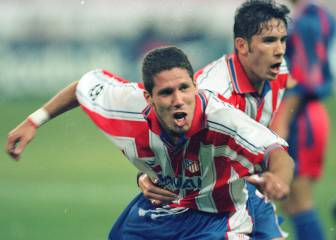 Zidane and Simeone first and only derby as players