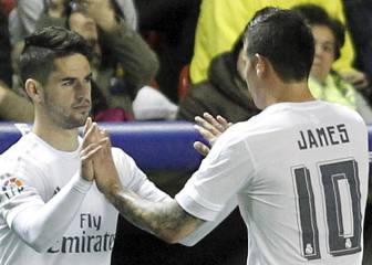 Isco and James might be shown the back door