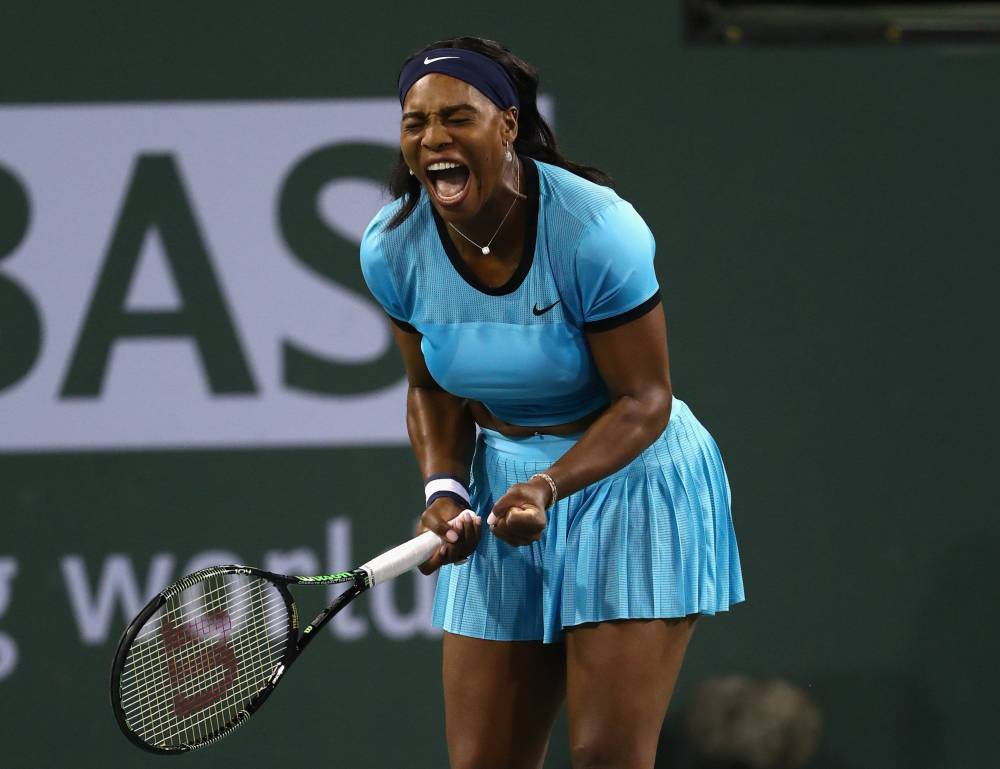 Serena Williams Ends Simona Halep's Title Defence — WTA Indian Wells