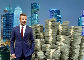 Beckham wins the lottery: Qatar buy his new club for $100 million!