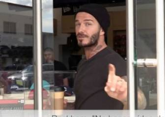 "Beckham tells paparazzi: ""You're very disrespectful"""