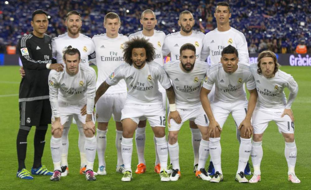 Image result for real madrid squad 2016