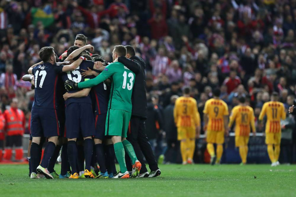 Barcelona knocked out of the Champions League 2015/16 by Atletico Madrid