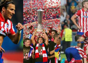 The changing faces of Atleti's European finalists