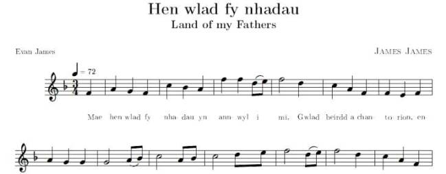 abc | Hen Wlad fy Nhadau [Land of My Fathers] National