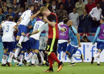 Pelle cracker caps Italy win over disappointing Belgium