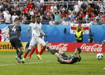 England 2 - 1 WaIes: Three Lions down Dragons in Group B