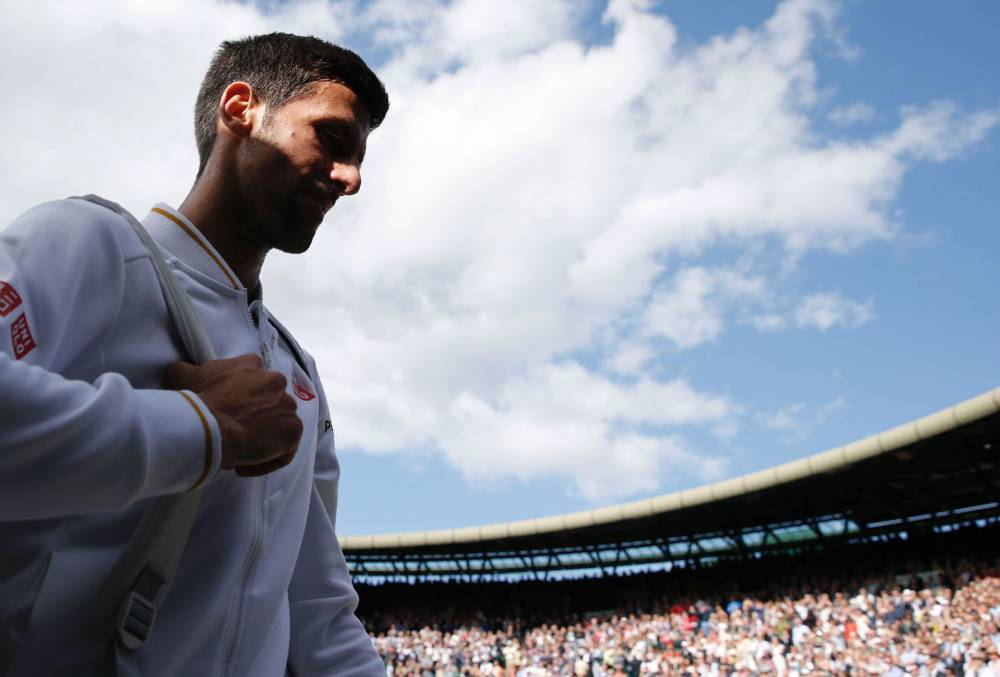 Shattered By Wimbledon Defeat, Novak Djokovic Uncertain of Rio Participation