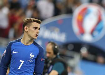 Griezmann UEFA's 'best player' as team of Euro 2016 unveiled