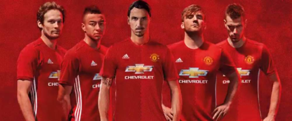 1ae53855bb8 Manchester United Zlatan centre stage as Man. United launch new 16 ...