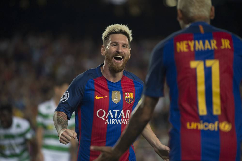 barcelona celtic result match report and goal