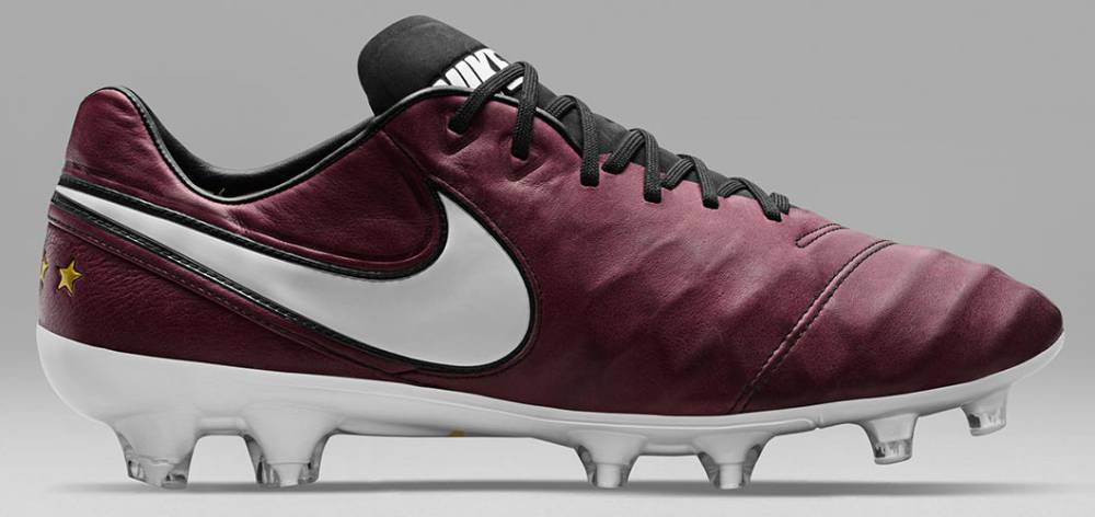 e491f11f984 Nike launch Andrea Pirlo Merlot coloured Tiempo boots