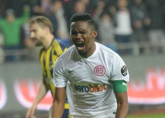 Eto'o suspended by Turkish club after racism remarks