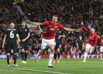 Round-up: Totti sets up Roma rout, Zlatan delivers for United