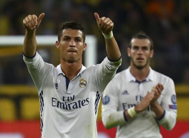 Cristiano was involved in the 2-2 draw in Dortmund rather than with his private plane at the time of the accident.