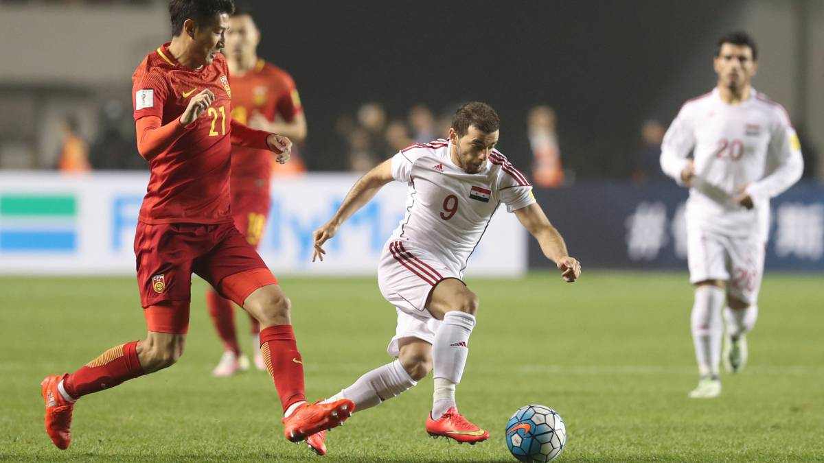 Syria stuns China in World Cup qualifying