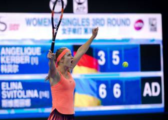 Svitolina downs number one for second time at China Open