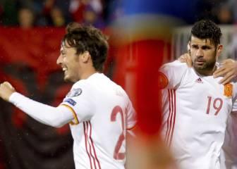Spain see off stubborn Albania in Shkoder