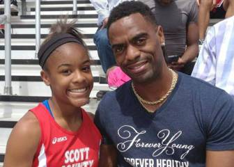 Three arrested over killing of Tyson Gay's daughter